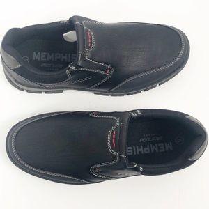 Memphis One Men's Casual Slip on Shoes Black Sz 9